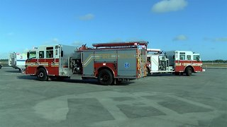 First responders train during disaster drill at Vero Beach Airport
