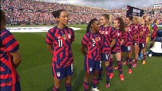 Women's Soccer Team Disrespect WW2 Veteran