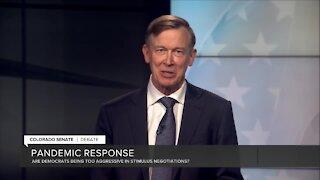 Debate: Hickenlooper on second stimulus