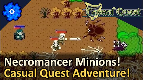Necromancer Minions! Casual Quest