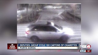 Cigarettes stolen Punta Gorda
