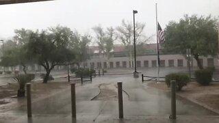 Storms moving across Southern Arizona