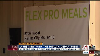 FlexPro Meals delivery service has history of health code violations