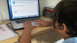 Virtual learning stresses kids and parents