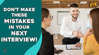 What Are Some Interview Behaviors That You Should Avoid?