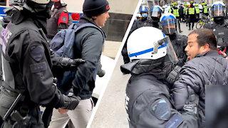 TEASER: Rebels arrested covering lockdown protest in Montreal