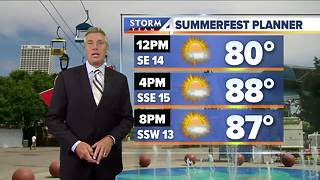 Heat advisory starts at noon Friday