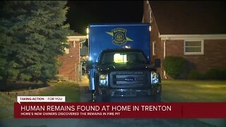 Human remains found at home in Trenton