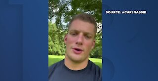 Las Vegas Raiders player comes out as gay in social media post
