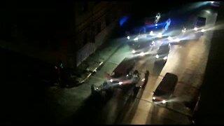 SOUTH AFRICA - Johannesburg - Night police raid (videos) (xiu)