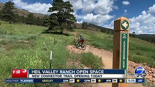 New Heil Valley Ranch trail opens today