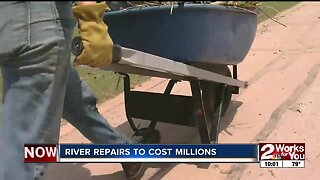 River repairs to cost millions
