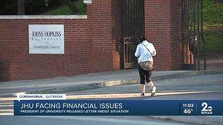 Johns Hopkins University announces cuts, expects layoffs amid budget shortfalls