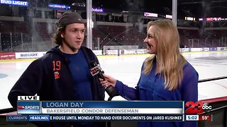Live interview with Condors' Logan Day
