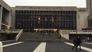 SOUTH AFRICA - Cape Town - Stock - Artscape Theartre Centre Exterior (Video) (CBG)