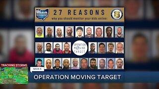 27 men from Northeast Ohio arrested in undercover online child predator operation
