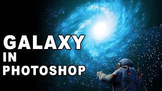 Photoshop Tutorial Create A Galaxy in Photoshop