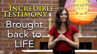 From Atheism to Catholicism. Christine Watkins', Miracle Conversion Story