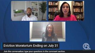 Facebook Q&A: Eviction Moratorium ending July 31