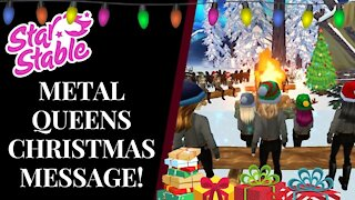 Metal Queens Christmas Message! 🎄CHANNEL UPDATES? Spoilers... & more! Star Stable Quinn Ponylord
