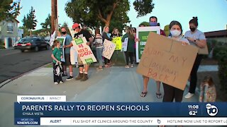 CVESD rally to reopen schools