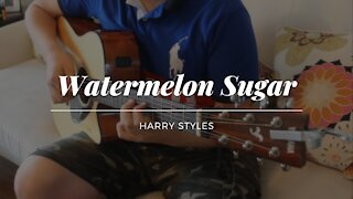 (Harry Styles) Watermelon Sugar - Acoustic Cover - Two Hands