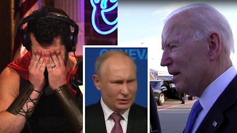 Weak Biden Puts America LAST During Putin Summit!   Louder With Crowder
