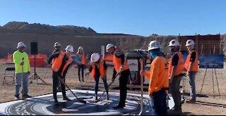 Henderson Event Center celebrates construction milestone