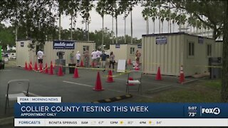Collier County COVID testing