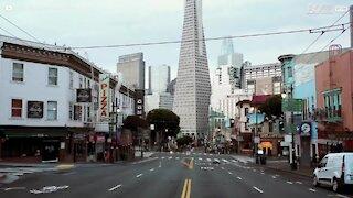 São Francisco deserta durante a quarentena