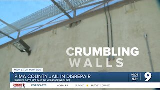 Pima County Jail in disrepair