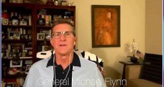 General Flynn on Reinstating Trump to Presidency