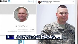 Lawsuits filed against former Detroit police officers over racist Snapchat post