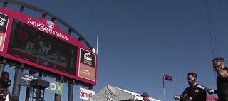 Last UNLV game at Sam Boyd Stadium