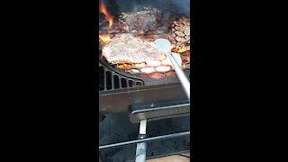 Oklahoma joes pellet grill