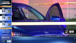 Two men sent to hospital after shooting