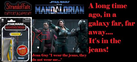 Star Wars The Mandalorian Jeans Guy IMMORTALIZED