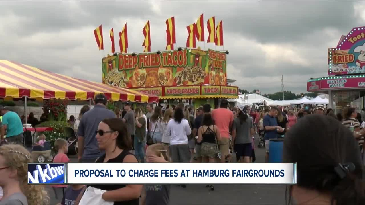 Council member proposes to charge fees at Hamburg Fairground