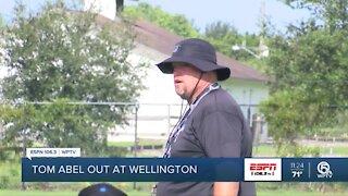 Tom Abel steps down at Wellington