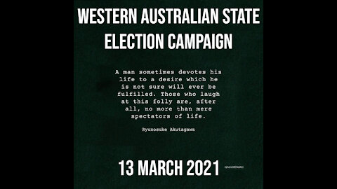 Men's Health & Equality WA State Election Campaign 2021