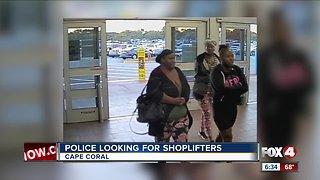 Walmart theft cape coral