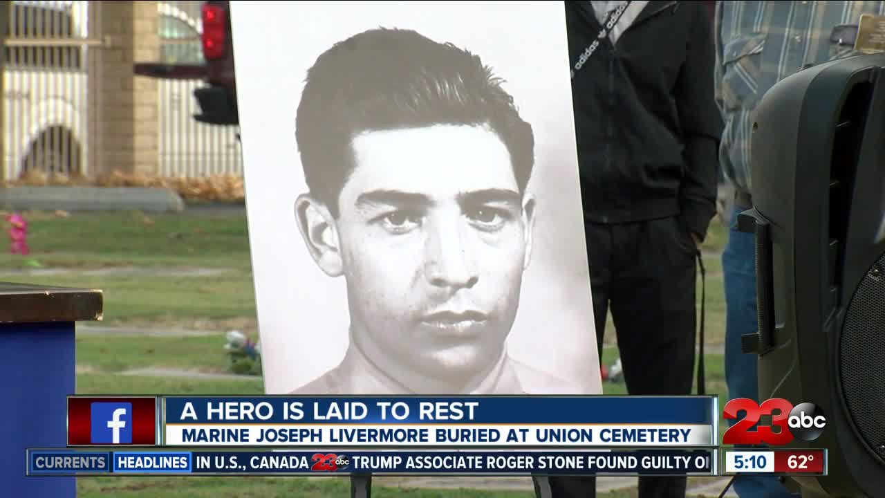 WWII Marine missing in action returns home to Bakersfield