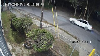 Murder suspect vehicle in Tampa - Angle 1