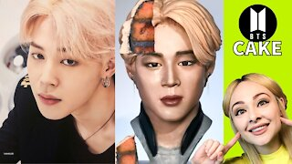 Artist makes hyperrealistic cake of Jimin from BTS