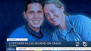 2 Officers killed in head-on crash