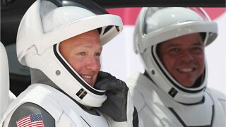 SpaceX Crew Dragon Docks With ISS