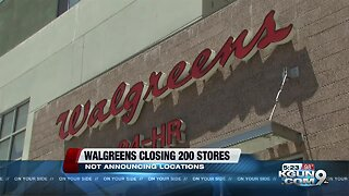 Walgreens will close about 200 stores in United States