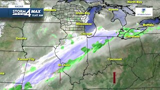 Chilly Tuesday with a slight chance for rain/snow showers