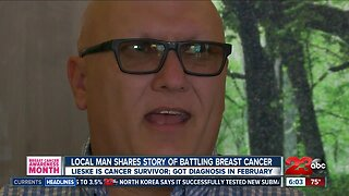 Local man shares story of battling breast cancer
