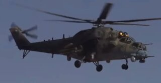 Russian Helicopter Crash Landing in Syria...